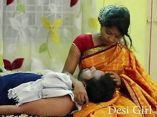 Desi Girl Romance Two lovers in bed
