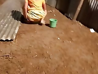 desi indian women pissing outside in open voyeur