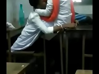 Indian Students Romancing in Class Room  Watch more at