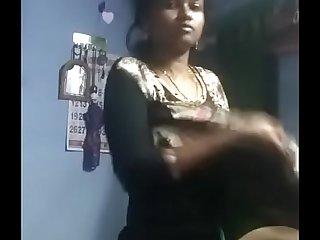 Tamil Desi girl hot nude selfie show 1