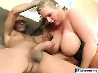 BBW Teen Hard Fuck On Couch