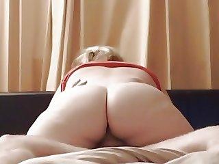 big beautiful woman Chunky Fuck Grinding Ramrod on Hidden Can