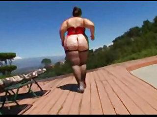 Huge Ass On BBW Veronica Bottoms