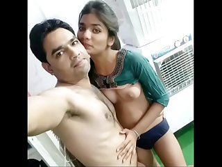indian Boss have fun with maid in store room