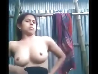 Indian Girl Bath Hot