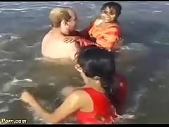 ridiculous indian beach fun