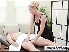 Tow-headed milf blowjob chunky horseshit afetr kneading