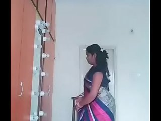 Swathi naidu dress exchange video  latest one