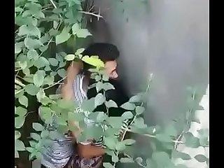Desi couple caught fucking outdoors