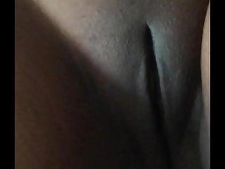 Desi girl shows her shaved big crack