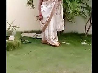 Swathi naidu saree dropping part3 short film shooting