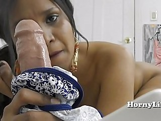 Slutty milf Horny Lily knows how to suck