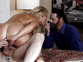 India Summer Fucks Other Man While Husband Watches