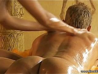 Interest Massage Tutorial With Blonde MILF