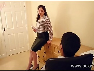 Desi bhabhi molested and forced to fuck boss POV Indian