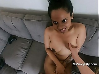 Big Boob Indian Tamil Super Star Babe Horny Lily Fucked In Lounge On Sofa