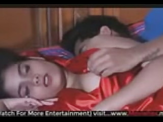 Arti Sharma desi babe getting fucked on bed in web series