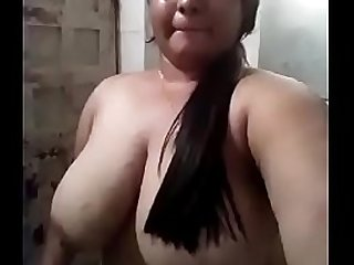 Nude Pose of Desi College Girl